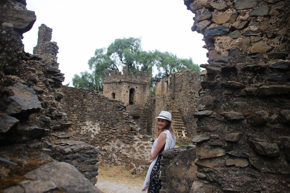 Gondar globe trotting