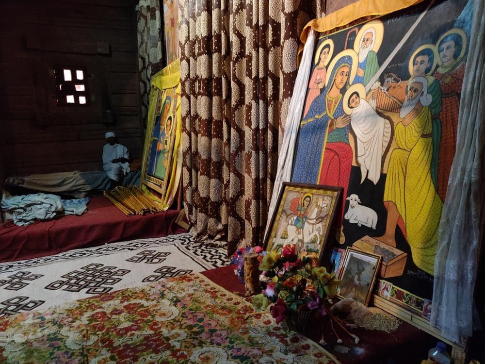 tapis églises Lalibela en Ethiopie