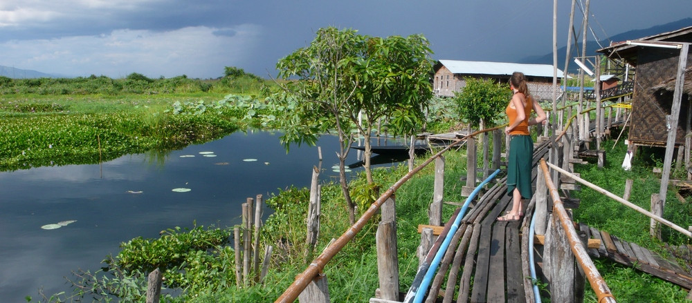 Promenade dans les villages du Lac Inlé