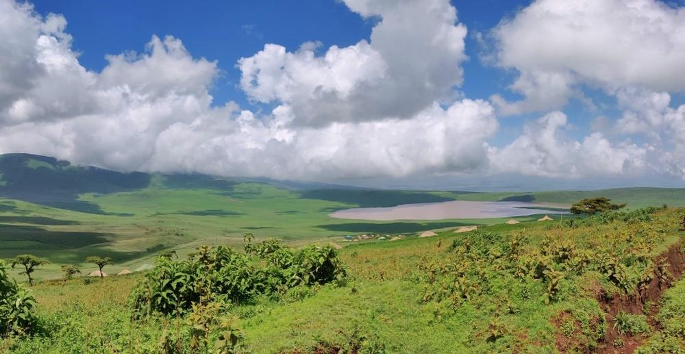 Vue sur Ngorongoro