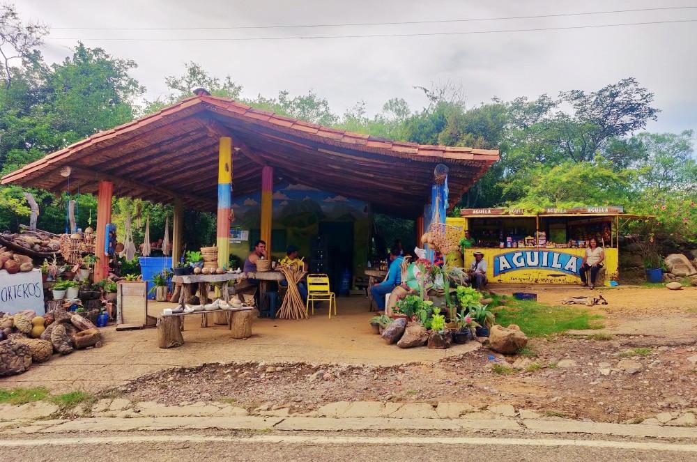 Barichara route