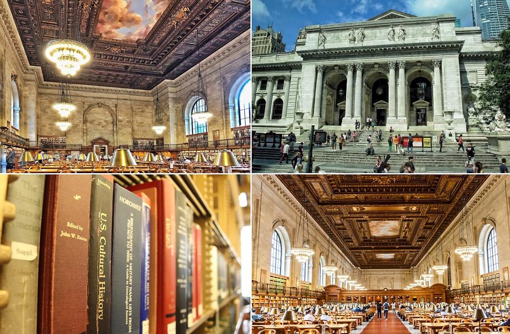 New York Insolite bibliothèque