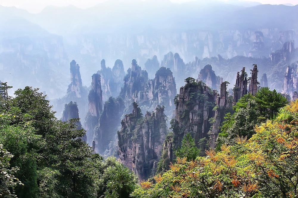Quand se rendre aux Monts Tianzi