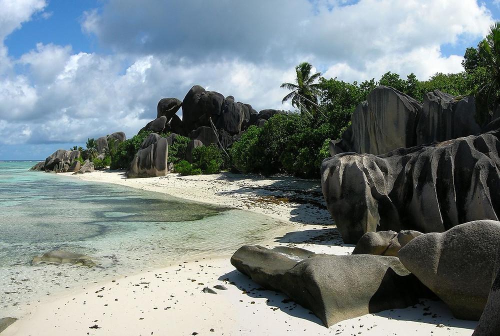 Anse Source d'Argent seychelles paysage