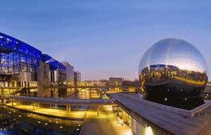 Cité des sciences et de l'industrie Lieu français touristique