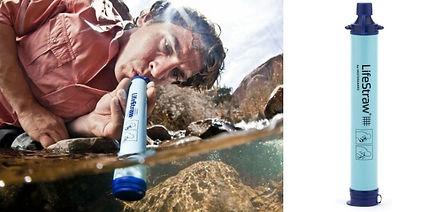 Cadeau randonnée filtre eau