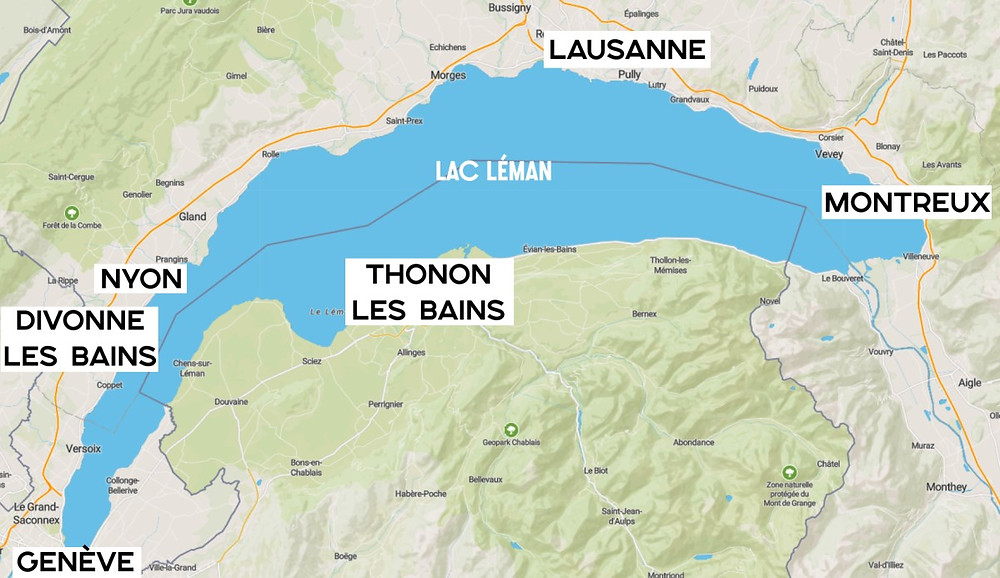 Où loger pour découvrir le Lac Léman
