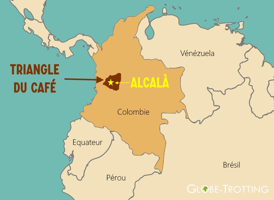 Alcala Colombie Carte