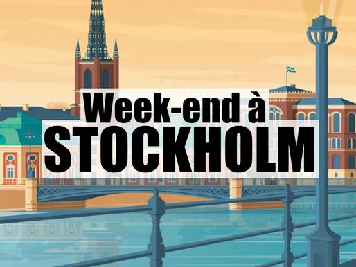 3 jours à Stockholm en Suède