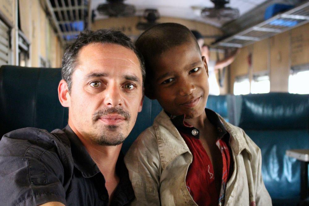 Dans le Train Bangladesh Dhaka Srimangal