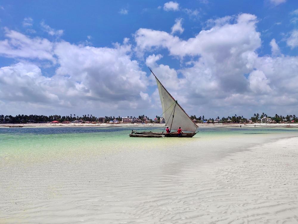 boutre plage de Jambiani