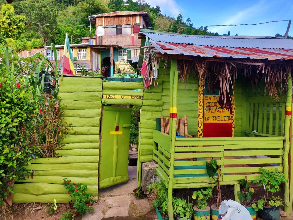 Maison rasta jamaique