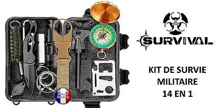 Cadeau randonnée Kit de survie