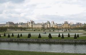 Château de Fontainebleau Monument historique France