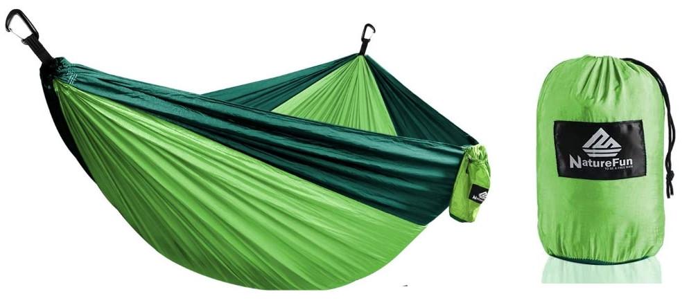 HAMAC DE VOYAGE en toile de parachute