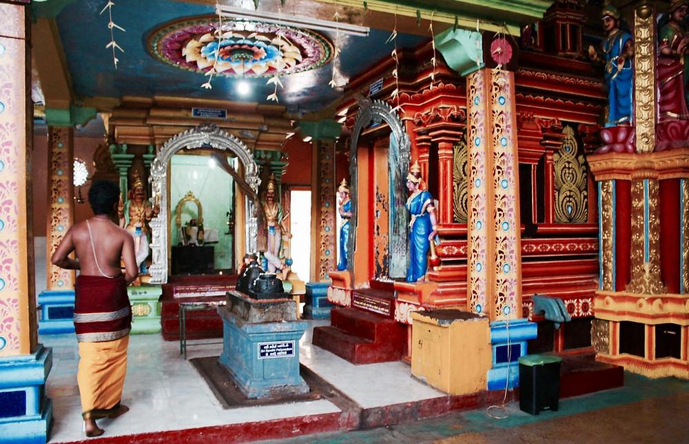 Sri Muthumariamman Temple à Matale au Sri Lanka