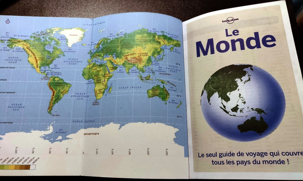 le monde guide lonely planet