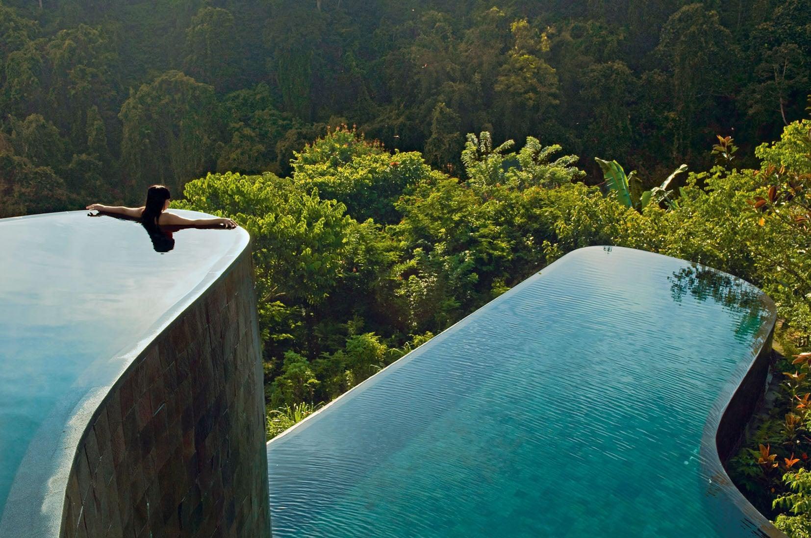 La Plus Belle Piscine Du Monde Hanging Gardens Of Bali Globe