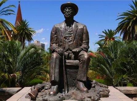 Windhoek Namibie statue