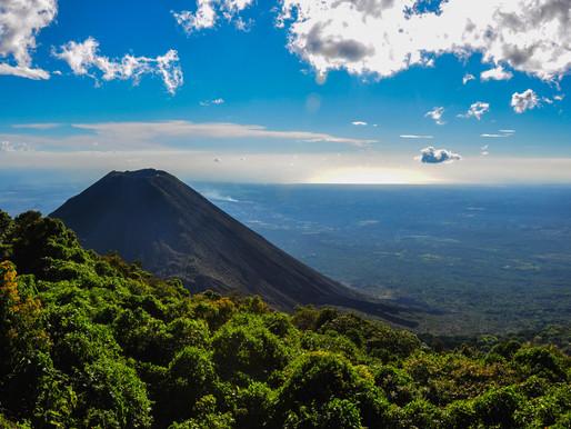 Le volcan Izalco au Salvador
