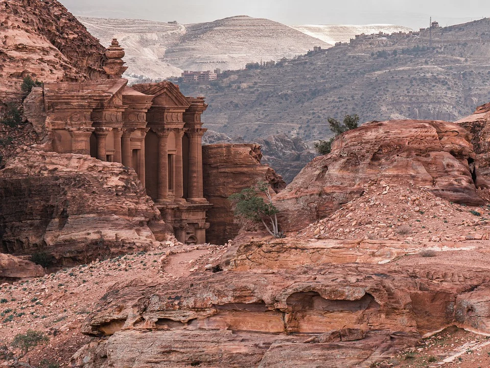 Cité Pétra en Jordanie
