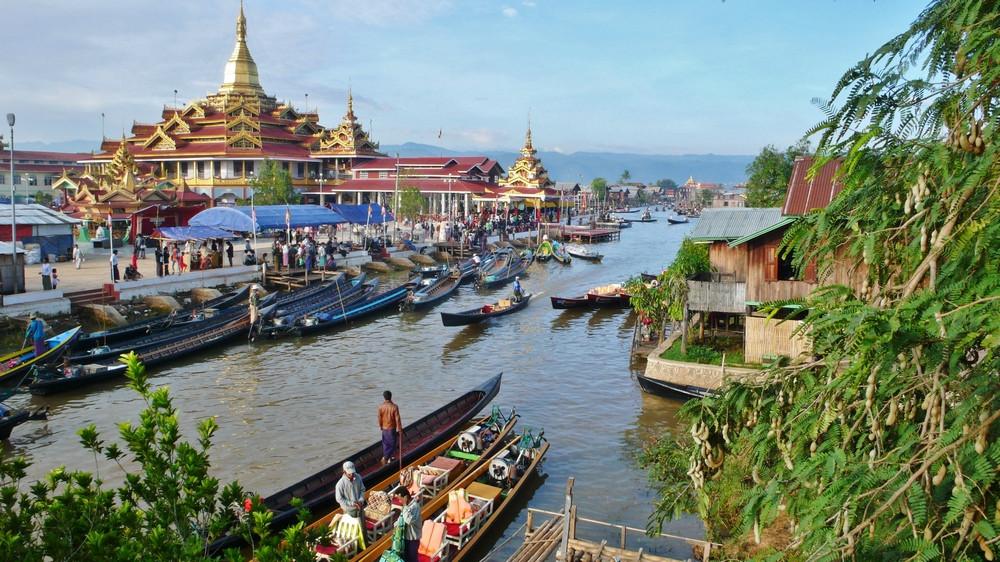 Lac Inlé Phaung Daw Birmanie