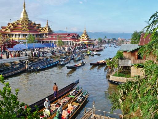 Nyaung Shwe et le Lac Inlé en Birmanie