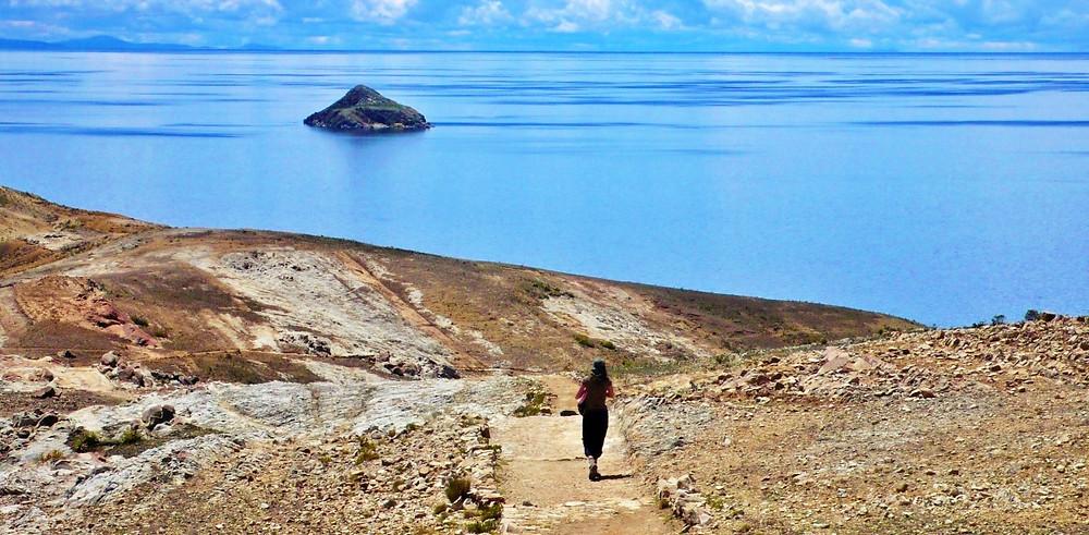 Ile du soleil Bolivie randonnée