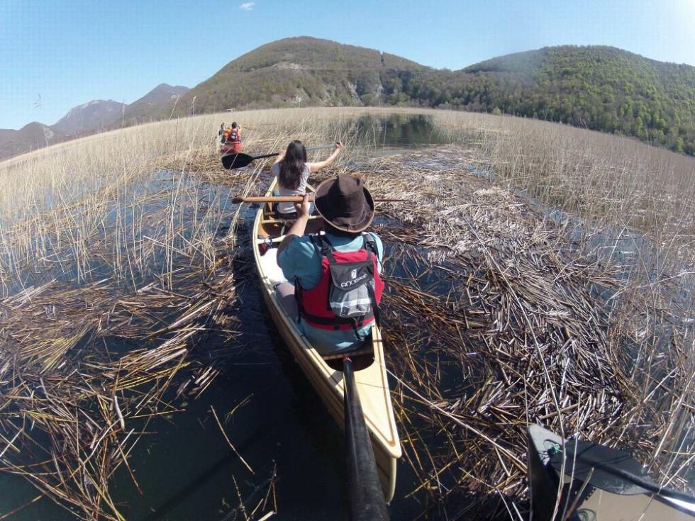 lac matese kayak