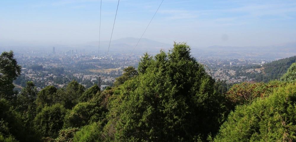 Vue Addis Abeba Entoto