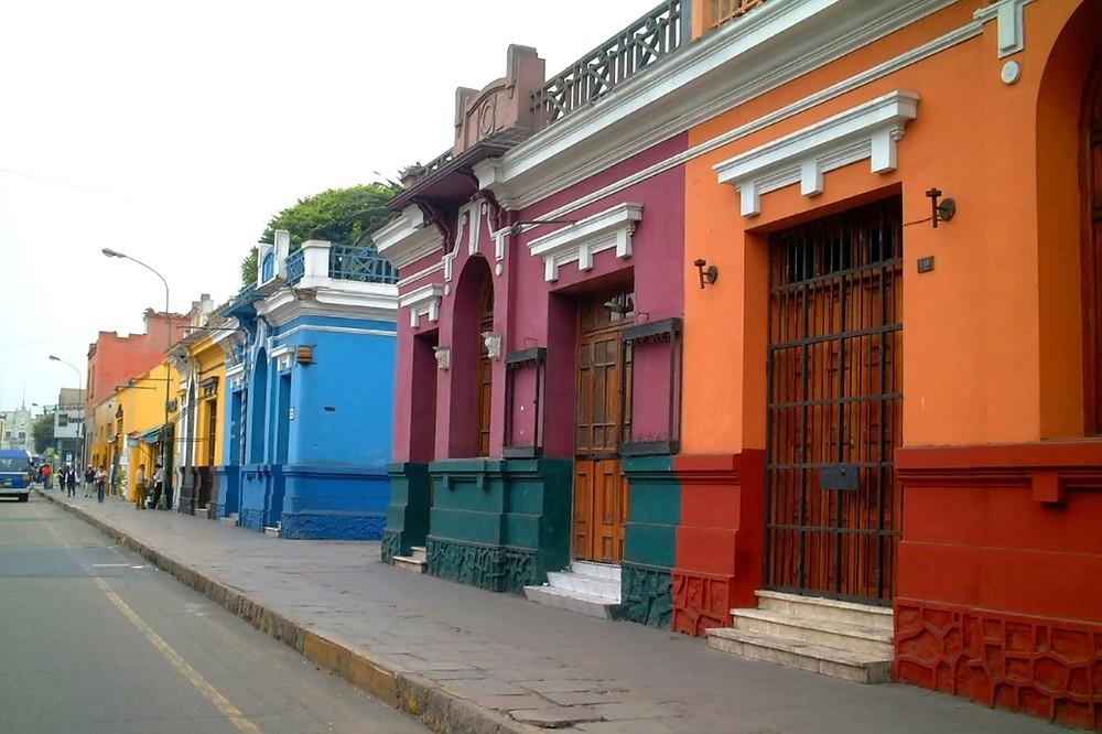 Barranco Lima Pérou visite