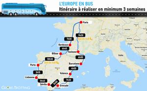 Espagne Portugal en Bus itinéraire voyage