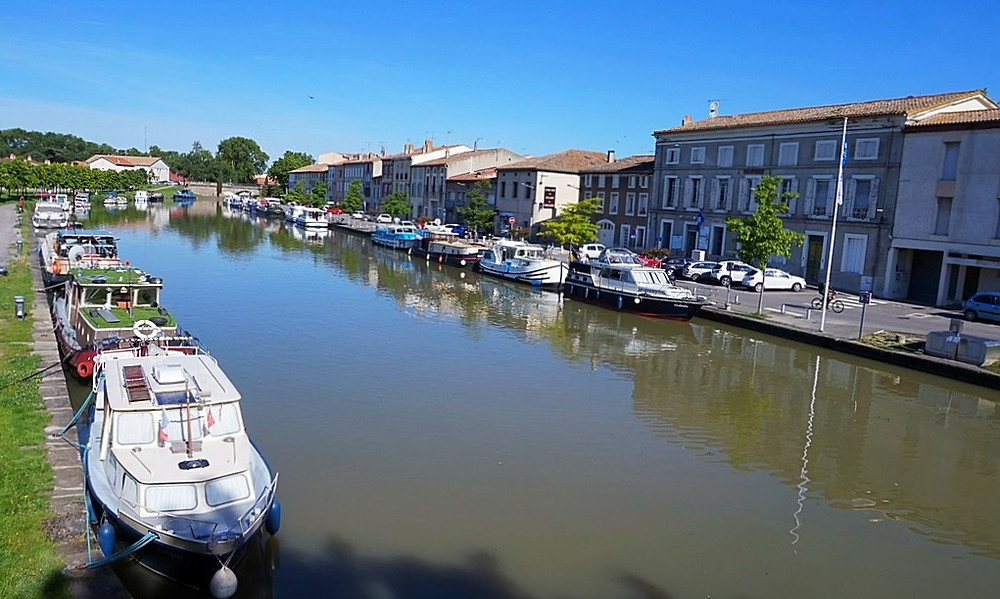 Castelnaudary à vélo Canal du Midi