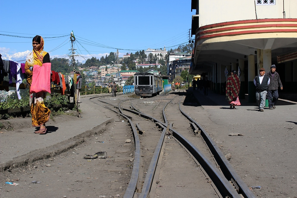 Train Darjeeling, Inde