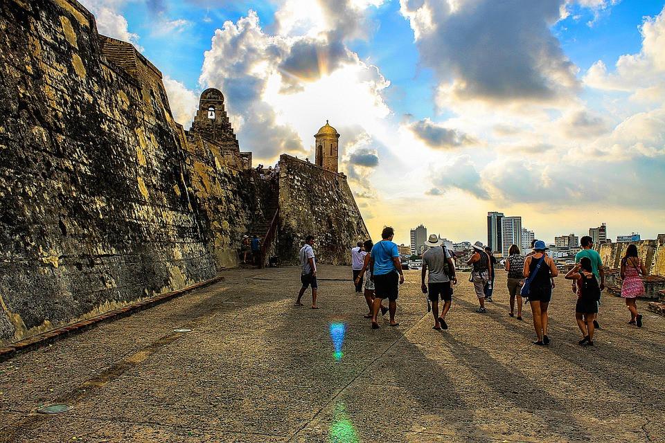 Castillo San Felipe Carthagène