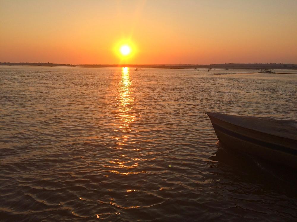 Tsimafana coucher de soleil