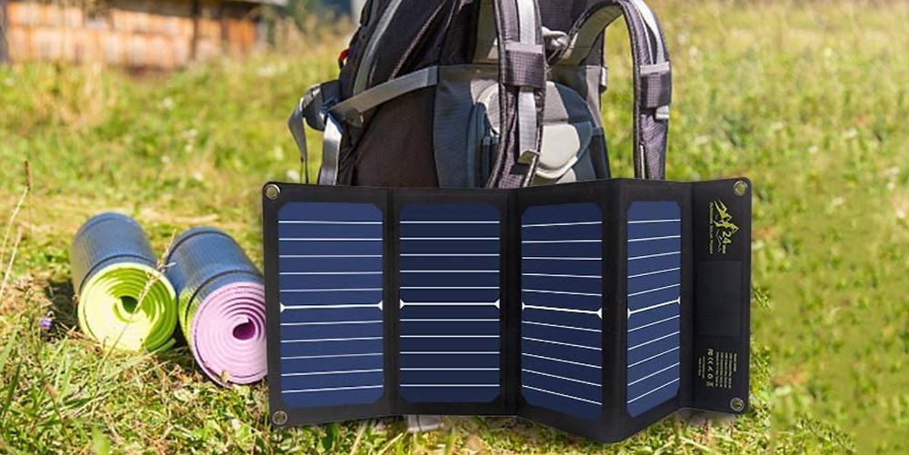 chargeur solaire voyage camping