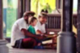 Enfant voyage hôtel Bali