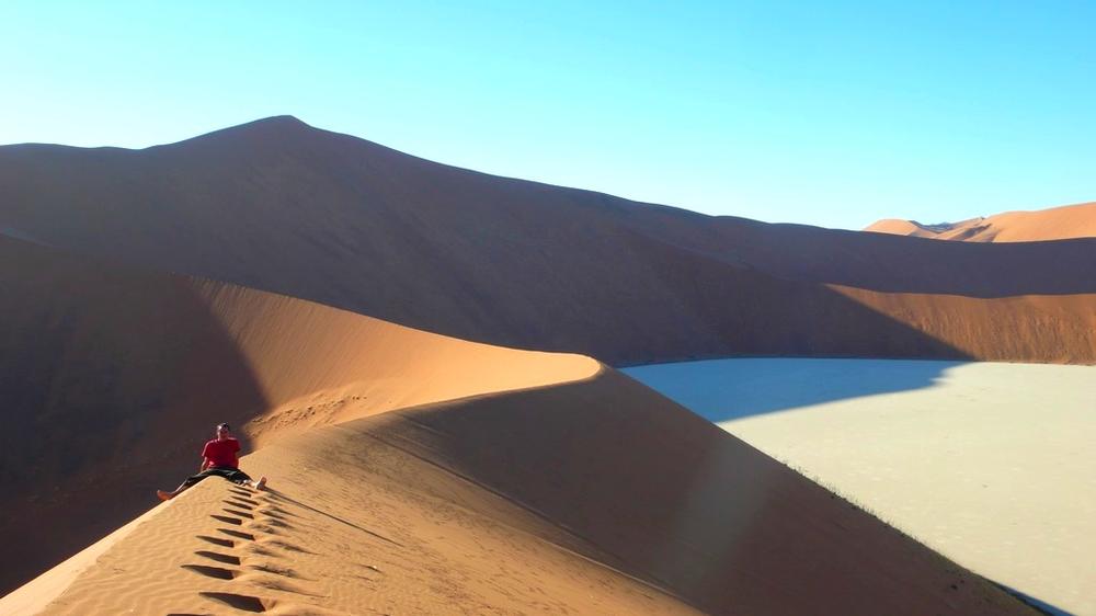 en haut dune de sossusvlei