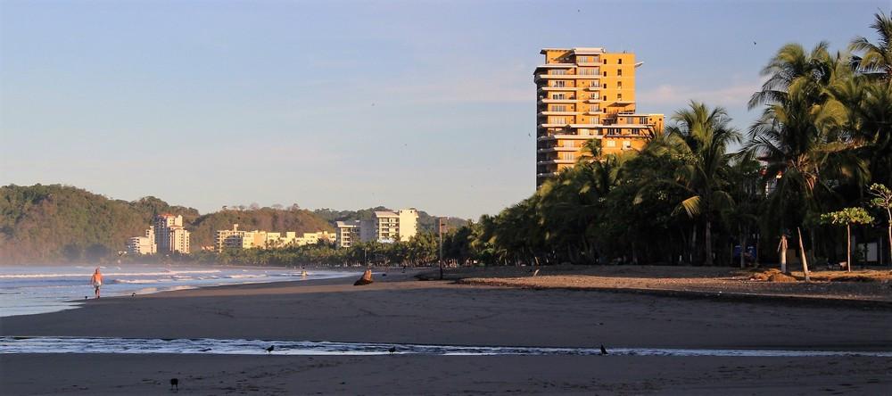 Plage Jaco au Costa Rica