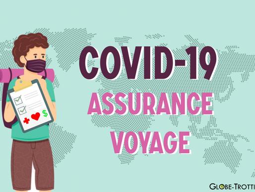 Assurance Covid-19 pour voyager à l'étranger