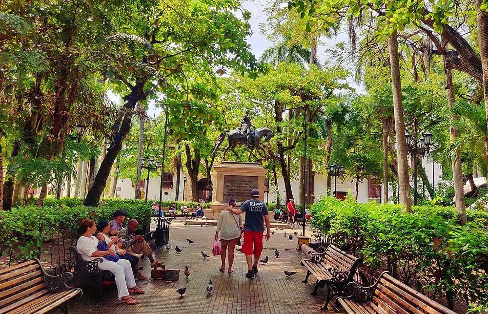 parque bolivar cartagena
