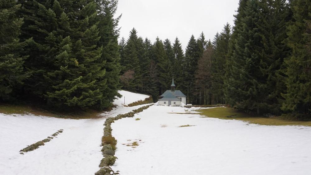Ski à Ventron - L'Ermitage