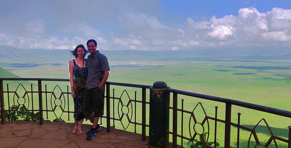 panorama cratère du Ngorongoro