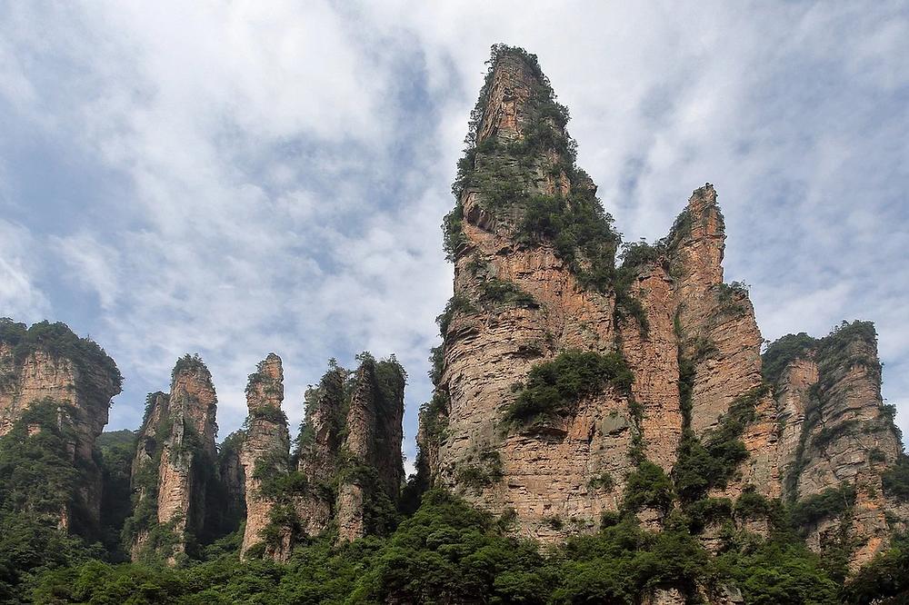 Monts Tianzi comment s'y rendre