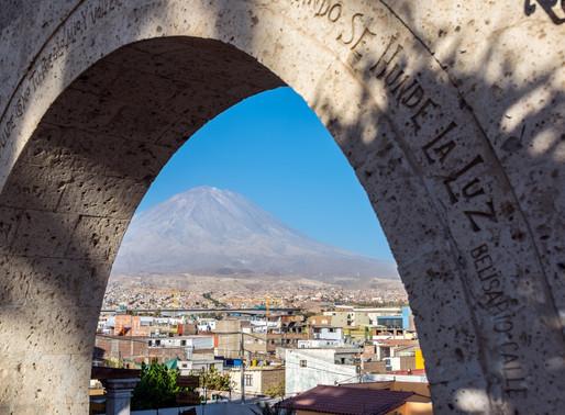 Arequipa au Pérou, Ciudad Blanca des Andes