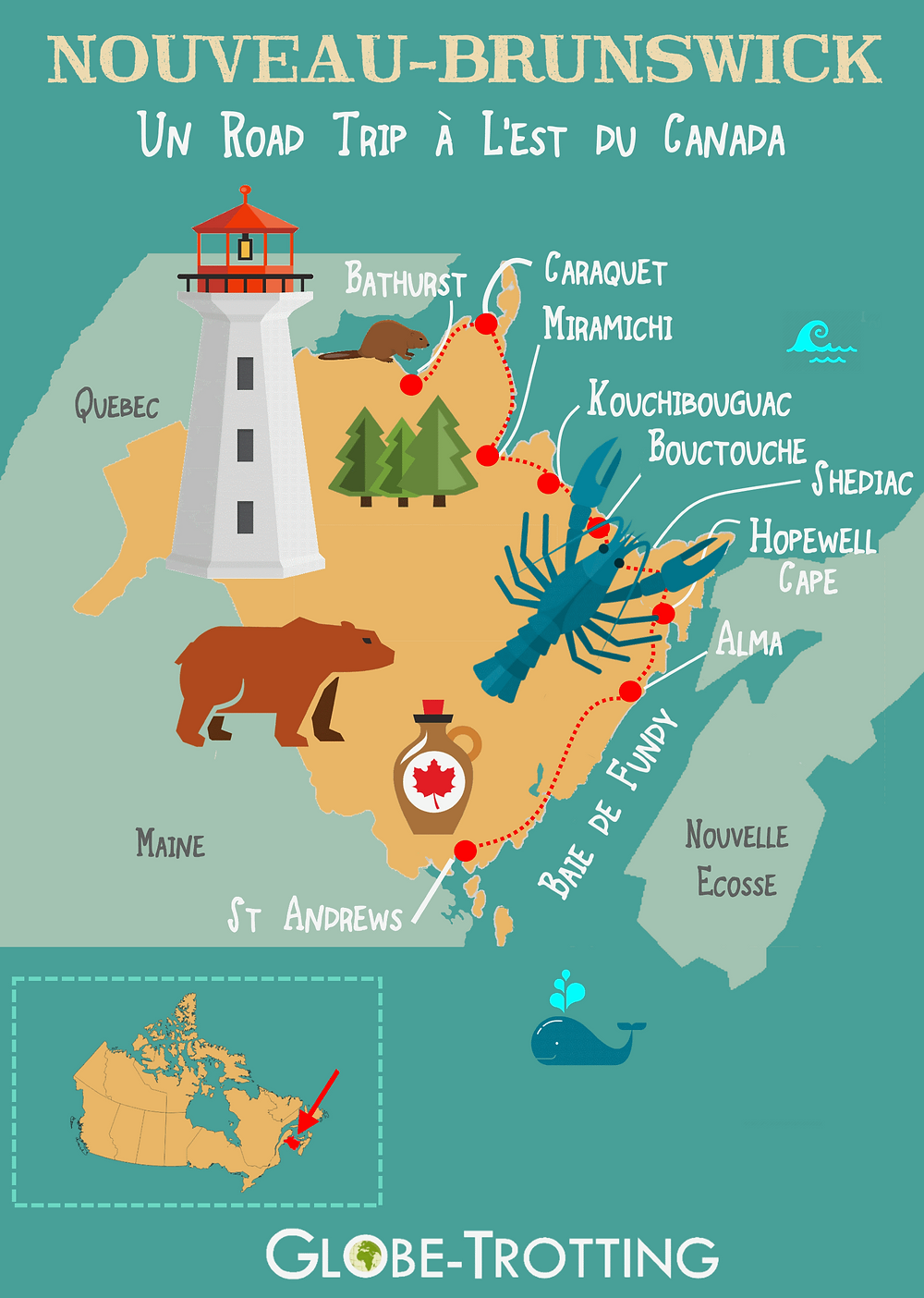 road trip canada