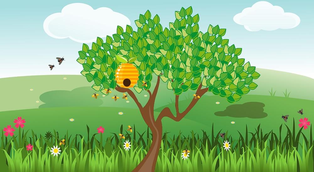 abeilles guêpes taons en voyage