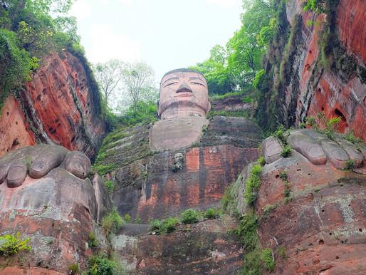 Le Grand Bouddha de Leshan en Chine