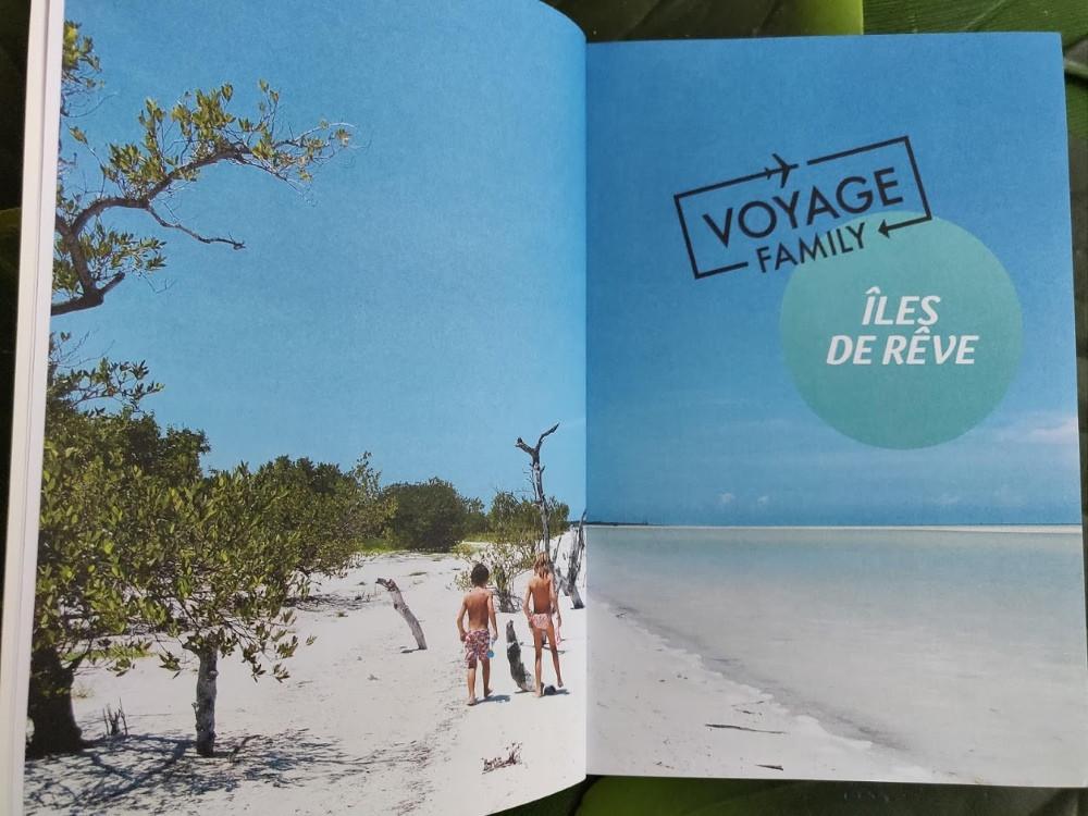 Livre Voyager en Famille Iles de Rêve